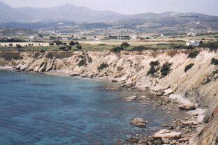 Beach opposite Stavros