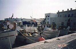 fishing boats Naousa